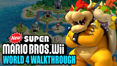New Super Mario Bros Wii 100 Walkthrough